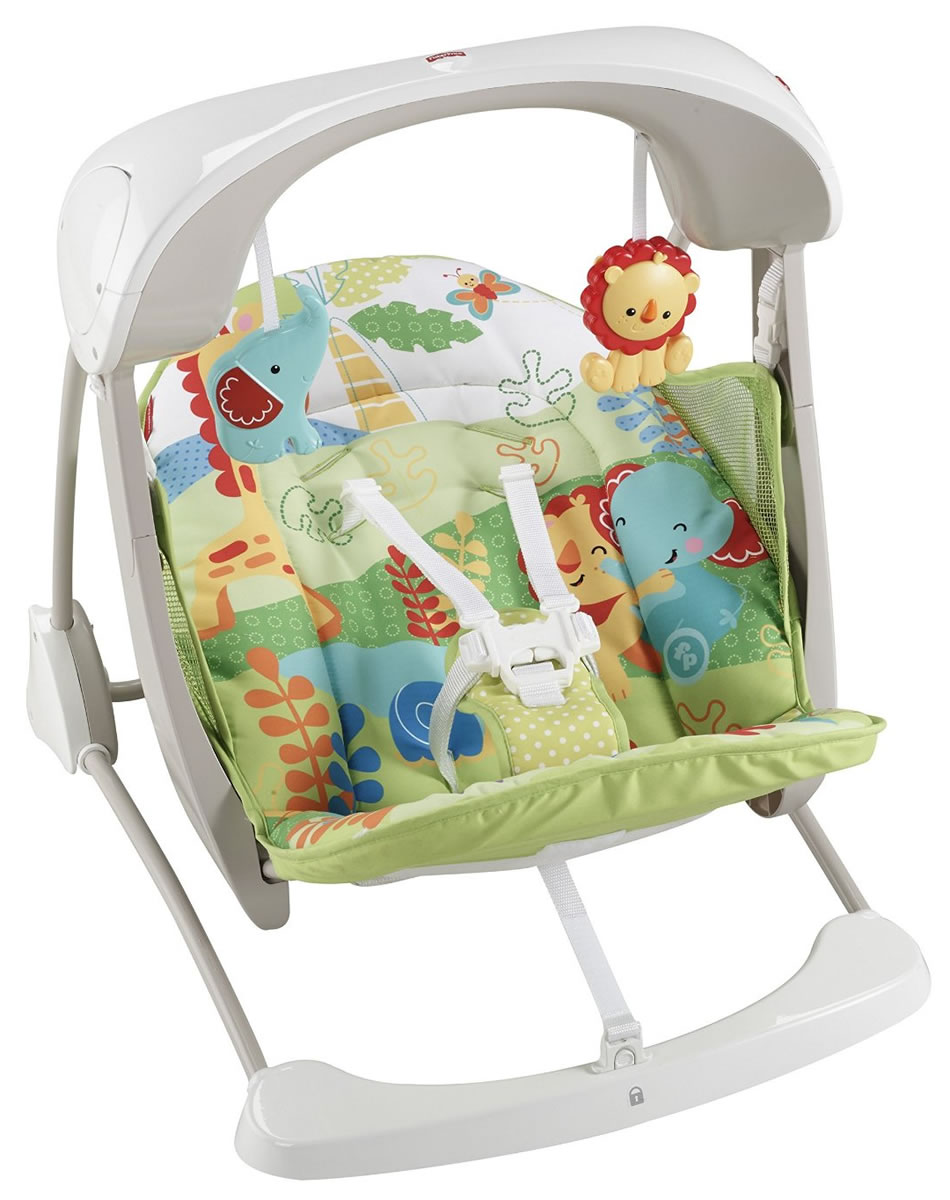 fisher price deluxe take along swing instructions