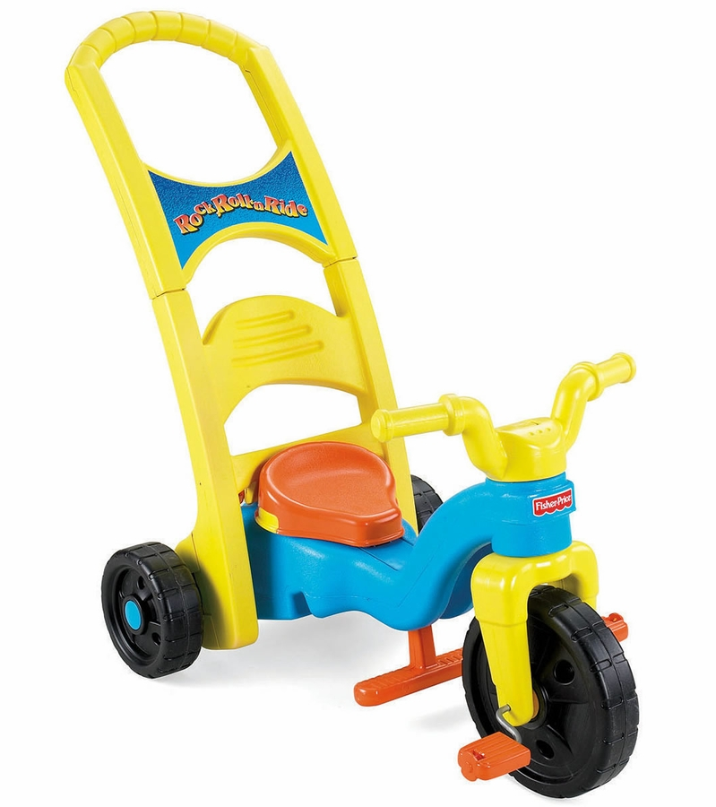 Fisher Price Rock Roll Amp Ride Tricycle