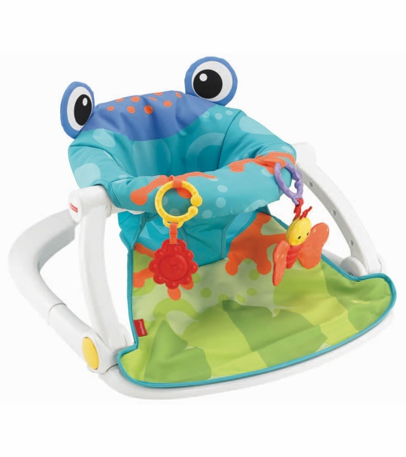 Car Seat Toy Fisher Price : Fisher price sit me up floor seat frog