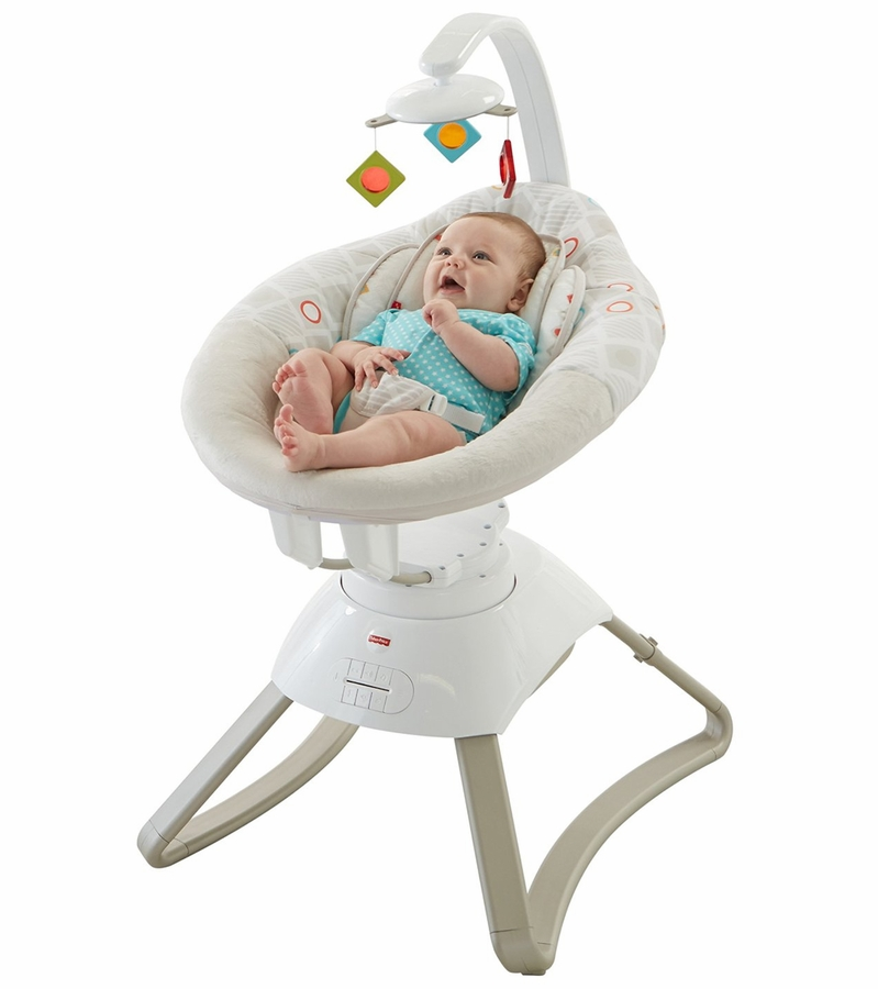 Car Seat Toy Fisher Price : Fisher price soothing motions baby seat