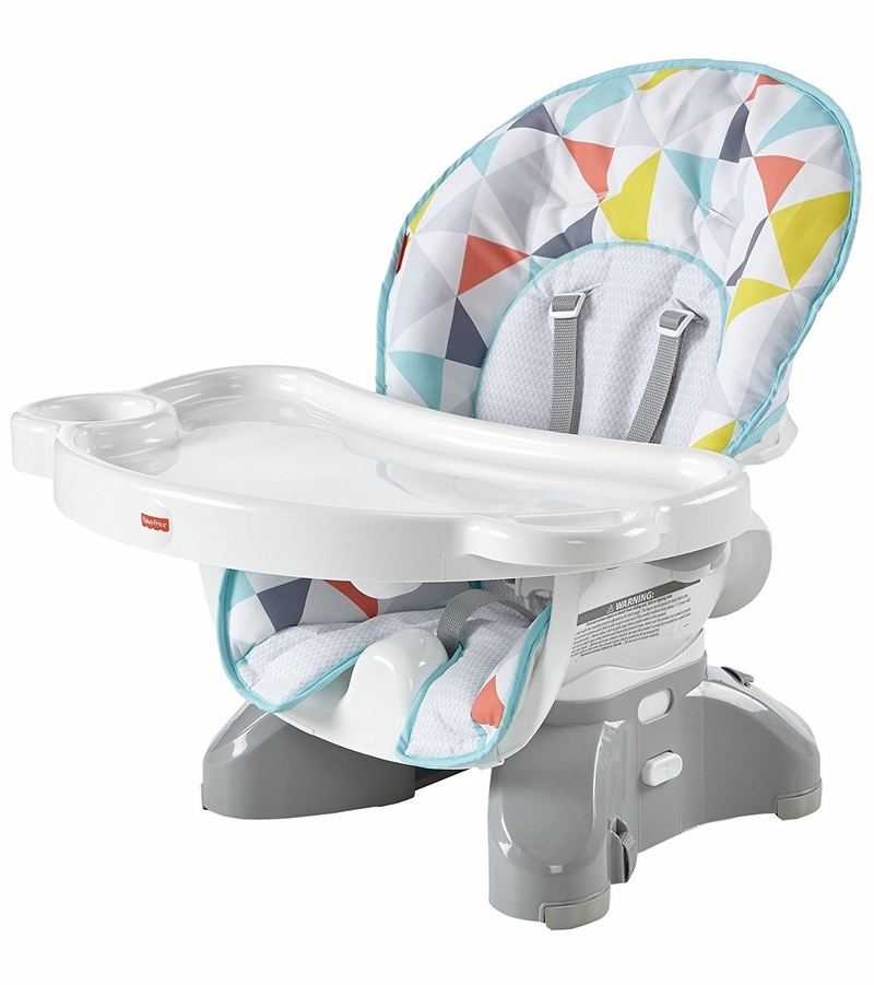 Fisher price space saver high chair for Chaise haute fisher price