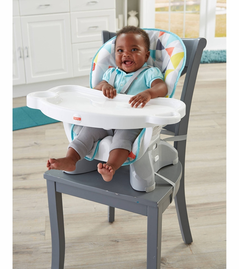 fisher price space saver high chair. Black Bedroom Furniture Sets. Home Design Ideas