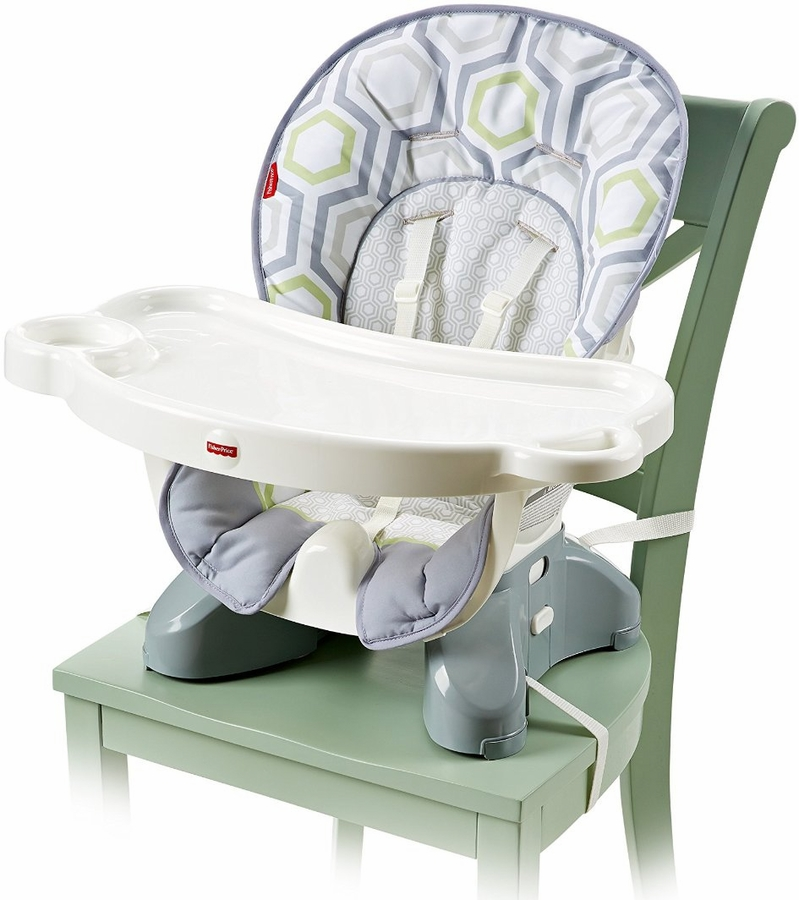 fisher price spacesaver high chair geo meadow