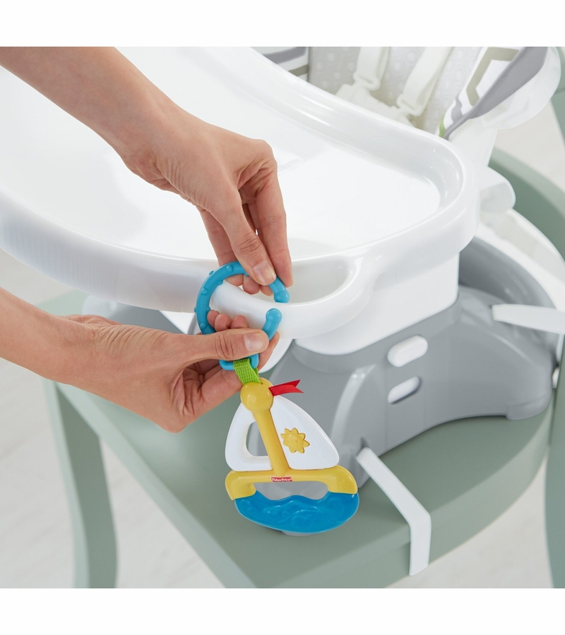 fisher price space saver high chair instructions