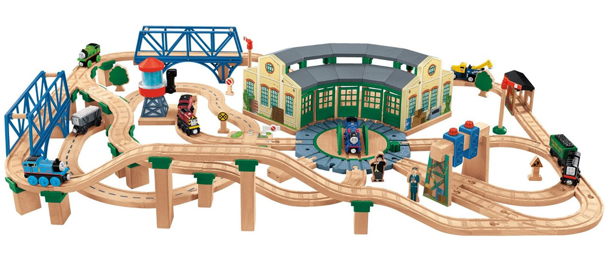 Fisher-Price Thomas & Friends Series Tidmouth Sheds Deluxe Set
