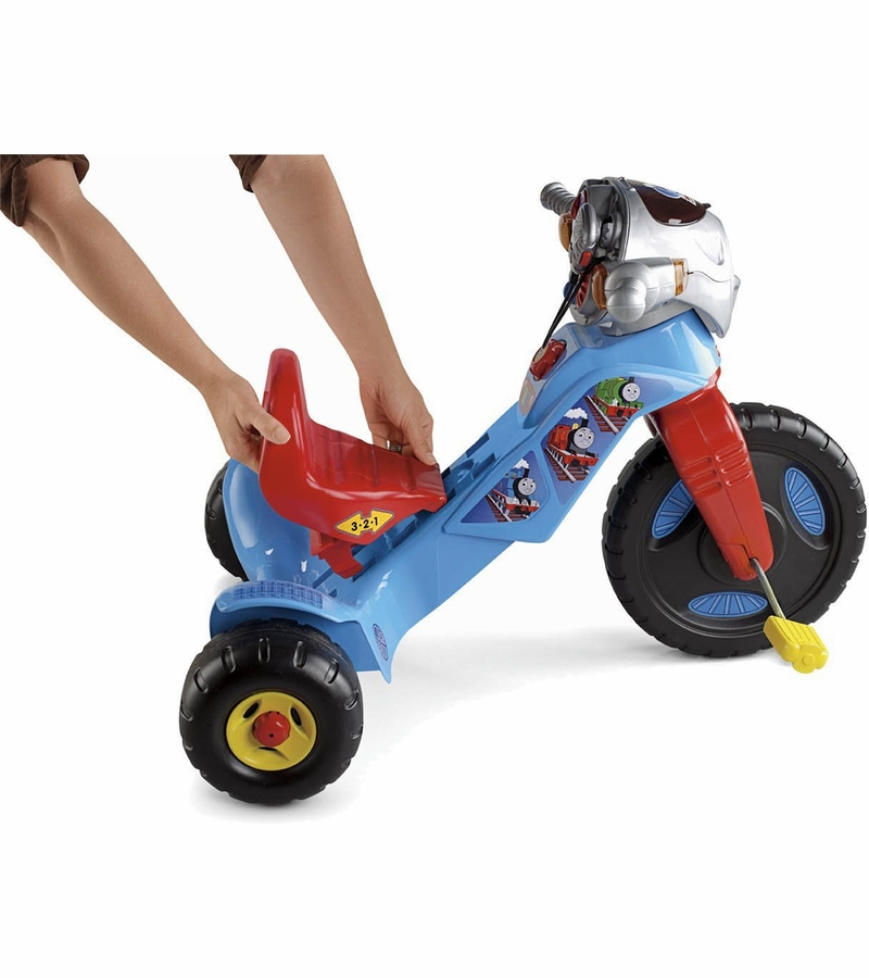 Fisher Price Lights Amp Sounds Trike Thomas The Train