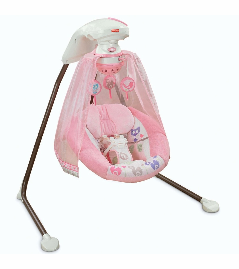 Fisher Price Tree Party Cradle N Swing