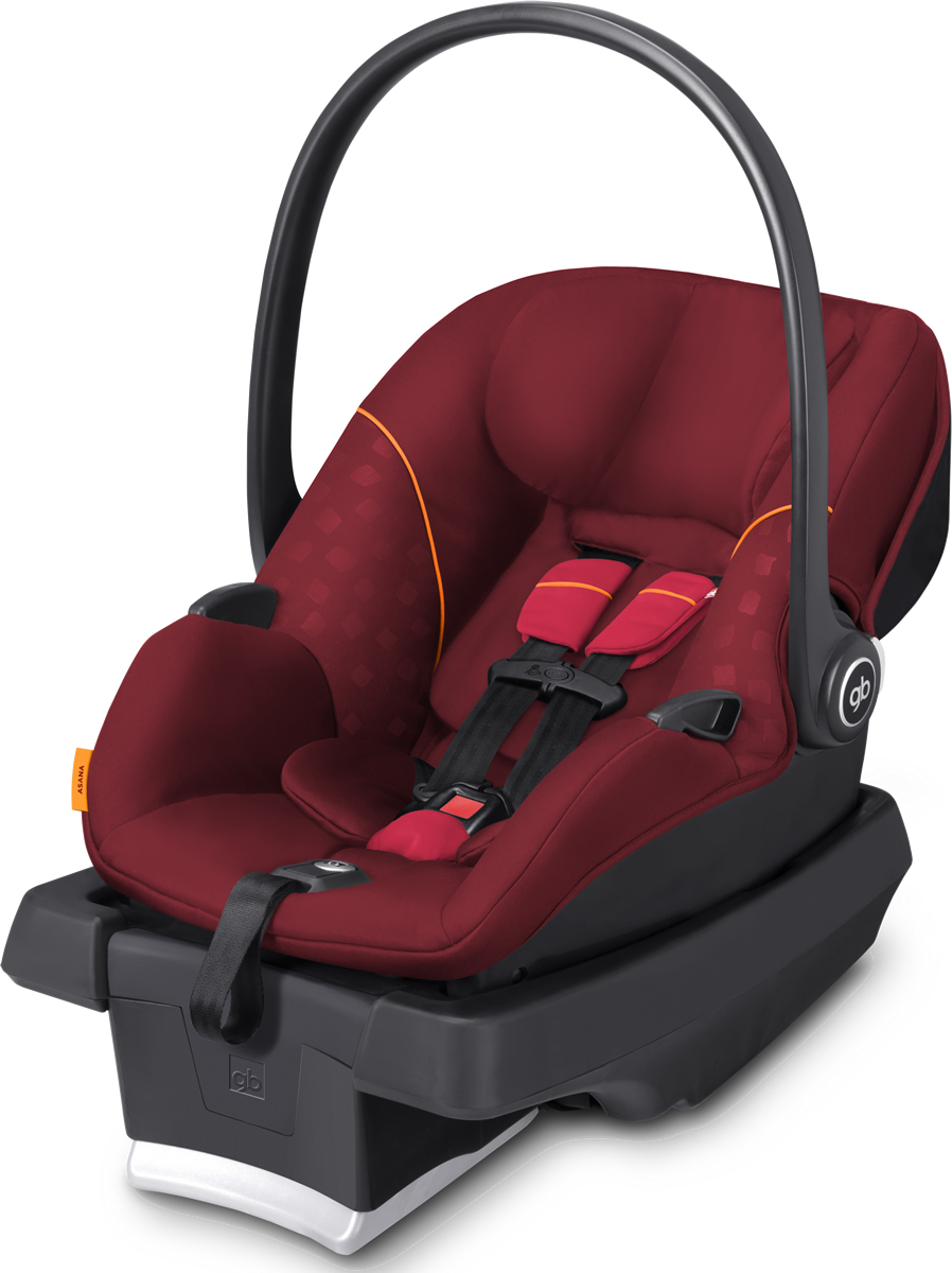 Gb Asana35 Infant Car Seat In Dragonfire Red - 616120003 - Dragonfire Red