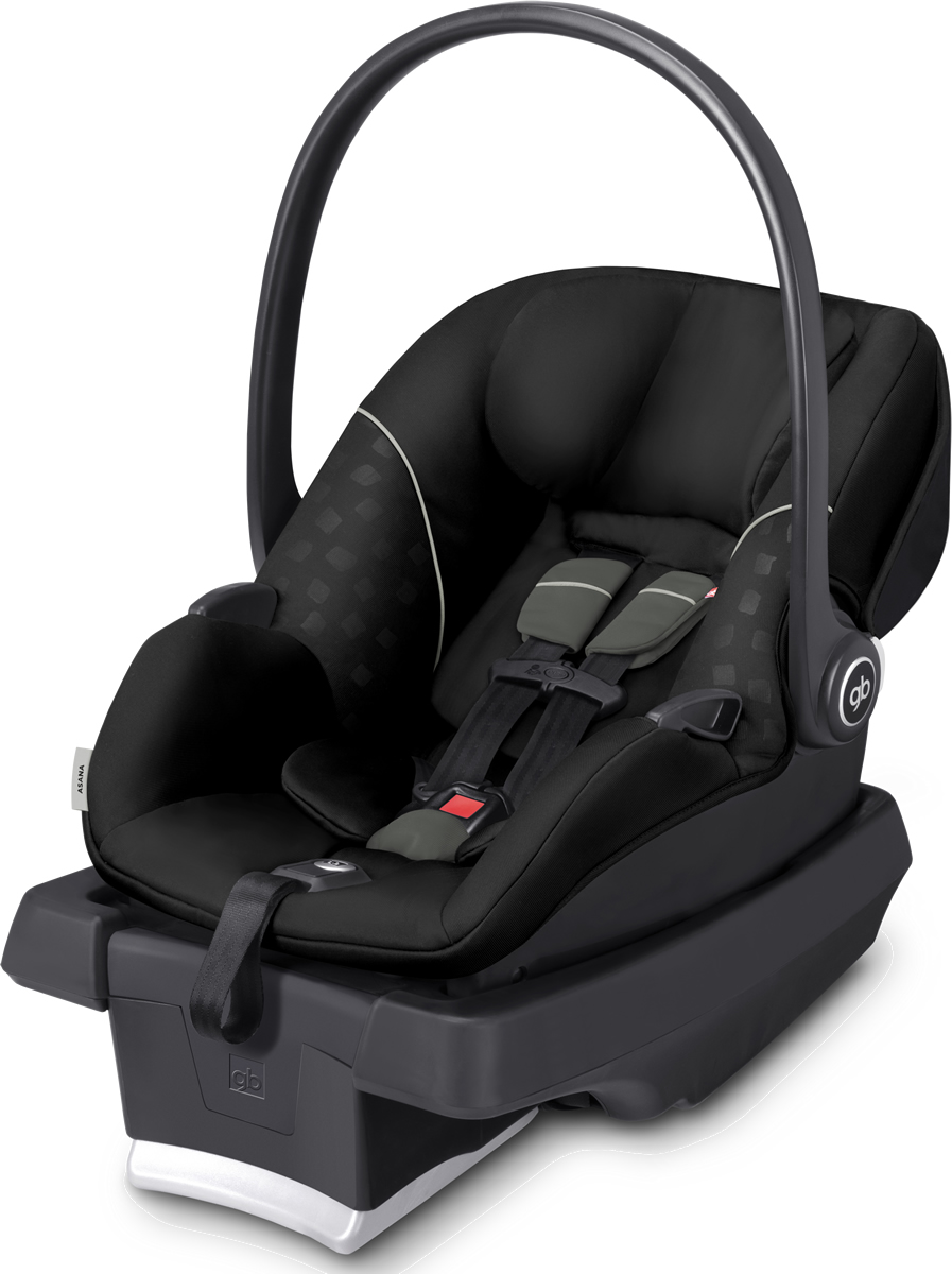 GB Asana 2016 Infant Car Seat - Monument Black