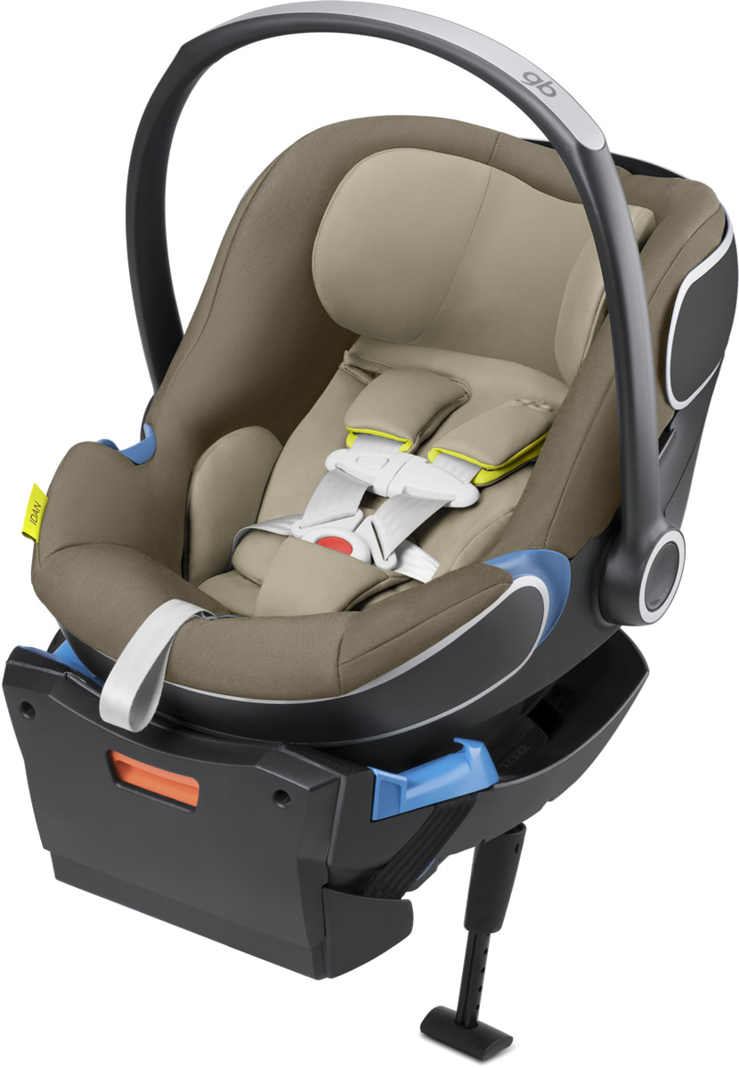 GB Idan Infant Car Seat - Lizard Khaki