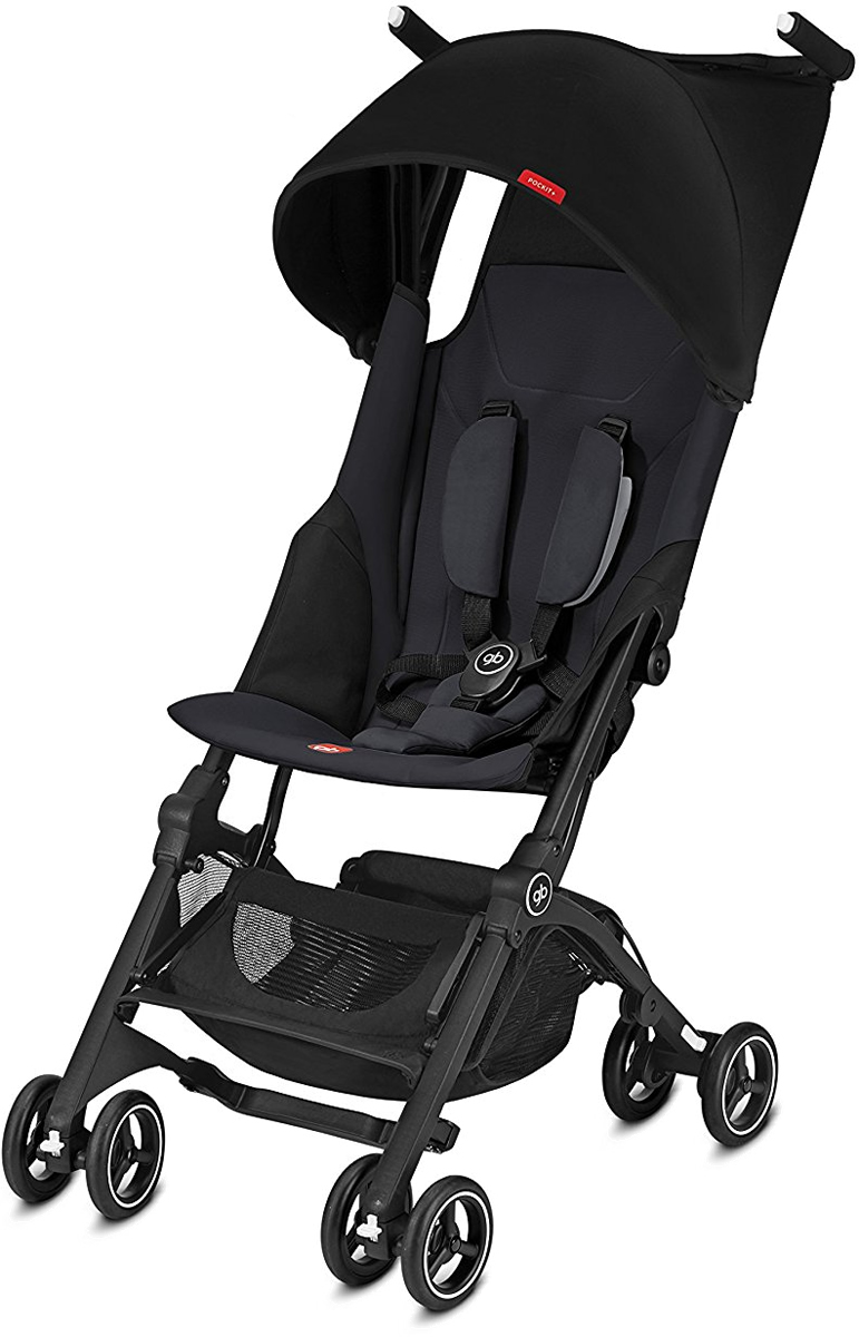 Gb Pockit Plus Stroller Satin Black