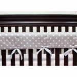 Glenna Jean Bella and Friends Convertible Crib Rail Protector - Short Set