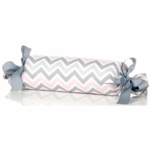 Glenna Jean Bella and Friends Roll Pillow - Zig Zag Stripe