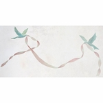 Glenna Jean Bird & Ribbon Wall Decal