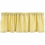 Glenna Jean Brea Window Valance in Yellow Dot