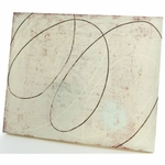 Glenna Jean Canvas Wall Art - Cream Scribble