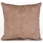 Glenna Jean Cape Town Throw Pillow - Faux Leather