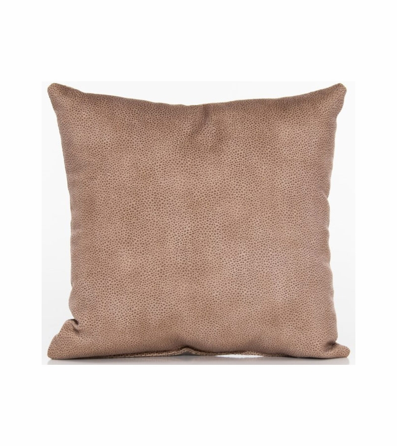 Throw Pillows Faux Leather : Glenna Jean Cape Town Throw Pillow - Faux Leather