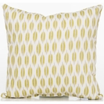 Glenna Jean Cape Town Throw Pillow - Leaf Print