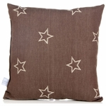 Glenna Jean Carson Throw Pillow - Denim Star