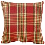 Glenna Jean Carson Throw Pillow - Plaid