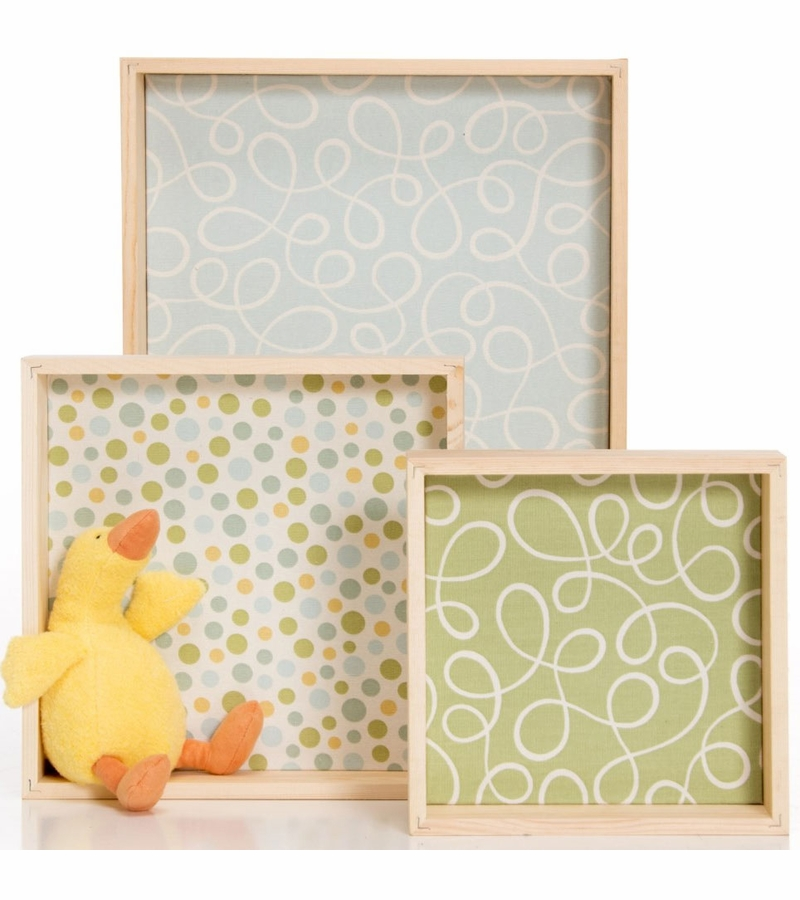 Glenna Jean Cube Wall Art with Duck Wall Hanging