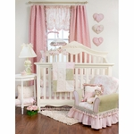 Glenna Jean Isabella 3 Piece Crib Bedding Set