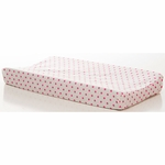 Glenna Jean Millie Changing Pad Cover in Pink Dot