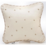 Glenna Jean Preston Pillow - Brown Dot