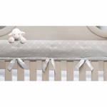 Glenna Jean Starlight Convertible Crib Rail Protector - Long