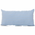 Glenna Jean Starlight Rectangular Pillow - Blue Gingham