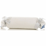 Glenna Jean Starlight Roll Pillow - White Velvet