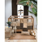 Glenna Jean Tanzania 3 Piece Crib Bedding Set