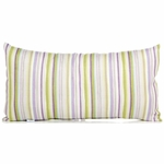 Glenna Jean Viola Rectangular Pillow - Stripe