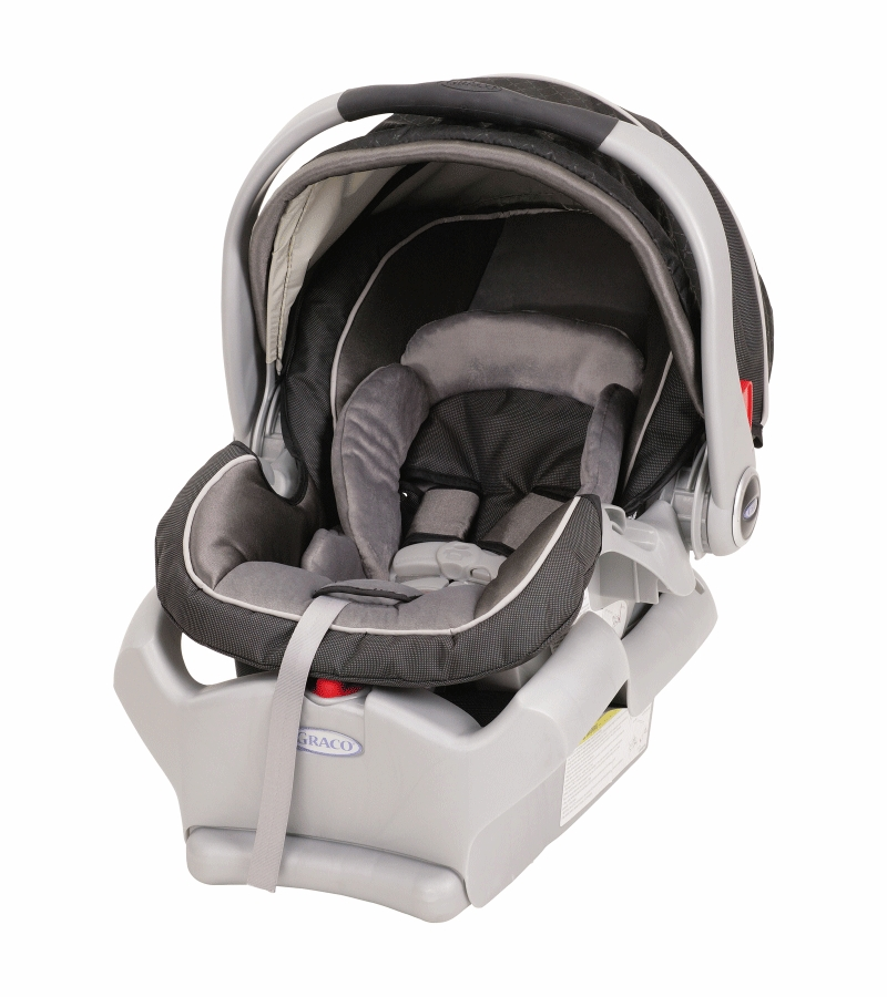 graco 2011 snugride 35lbs front adjust infant car seat 1761417 flint. Black Bedroom Furniture Sets. Home Design Ideas