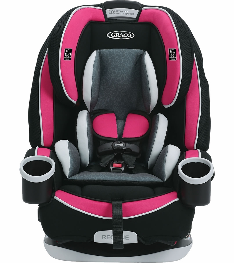 graco 4ever all in one convertible car seat azalea. Black Bedroom Furniture Sets. Home Design Ideas