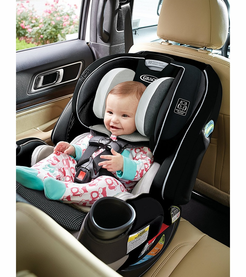 graco 4ever extend2fit all in one convertible car seat clove. Black Bedroom Furniture Sets. Home Design Ideas