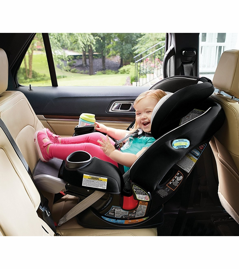 Graco 4Ever Extend2Fit All in One Convertible Car Seat - Clove