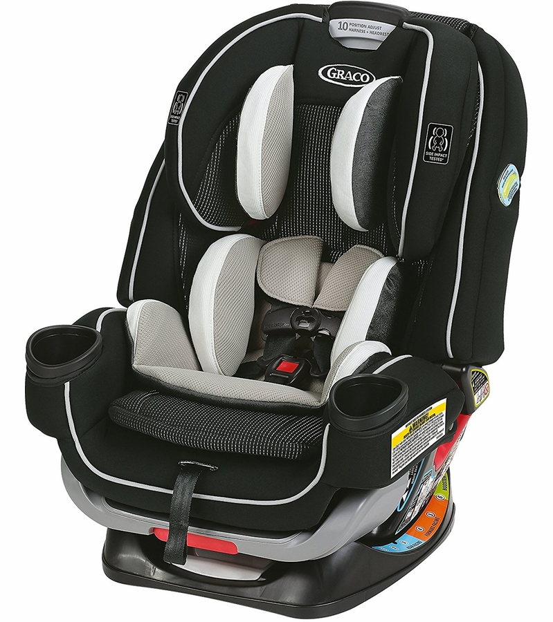 Graco 4Ever Extend2Fit All in One Convertible Car Seat - ...