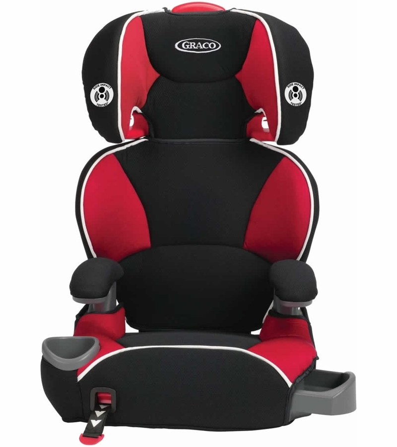 graco affix highback booster car seat with latch system atomic. Black Bedroom Furniture Sets. Home Design Ideas