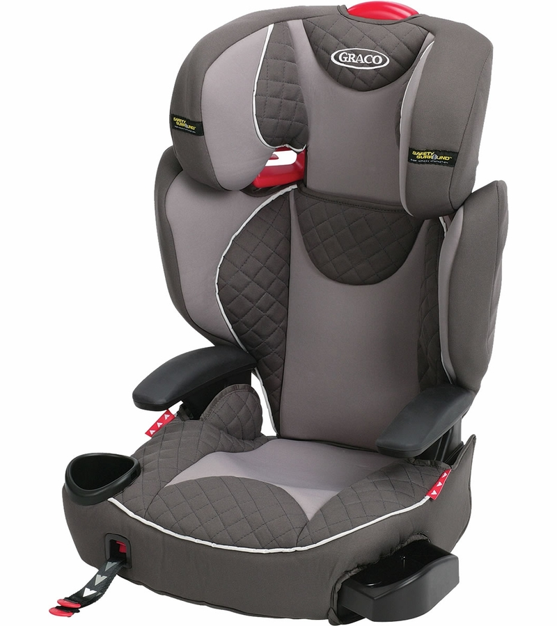 graco affix highback booster car seat with safety surround and latch system raze. Black Bedroom Furniture Sets. Home Design Ideas