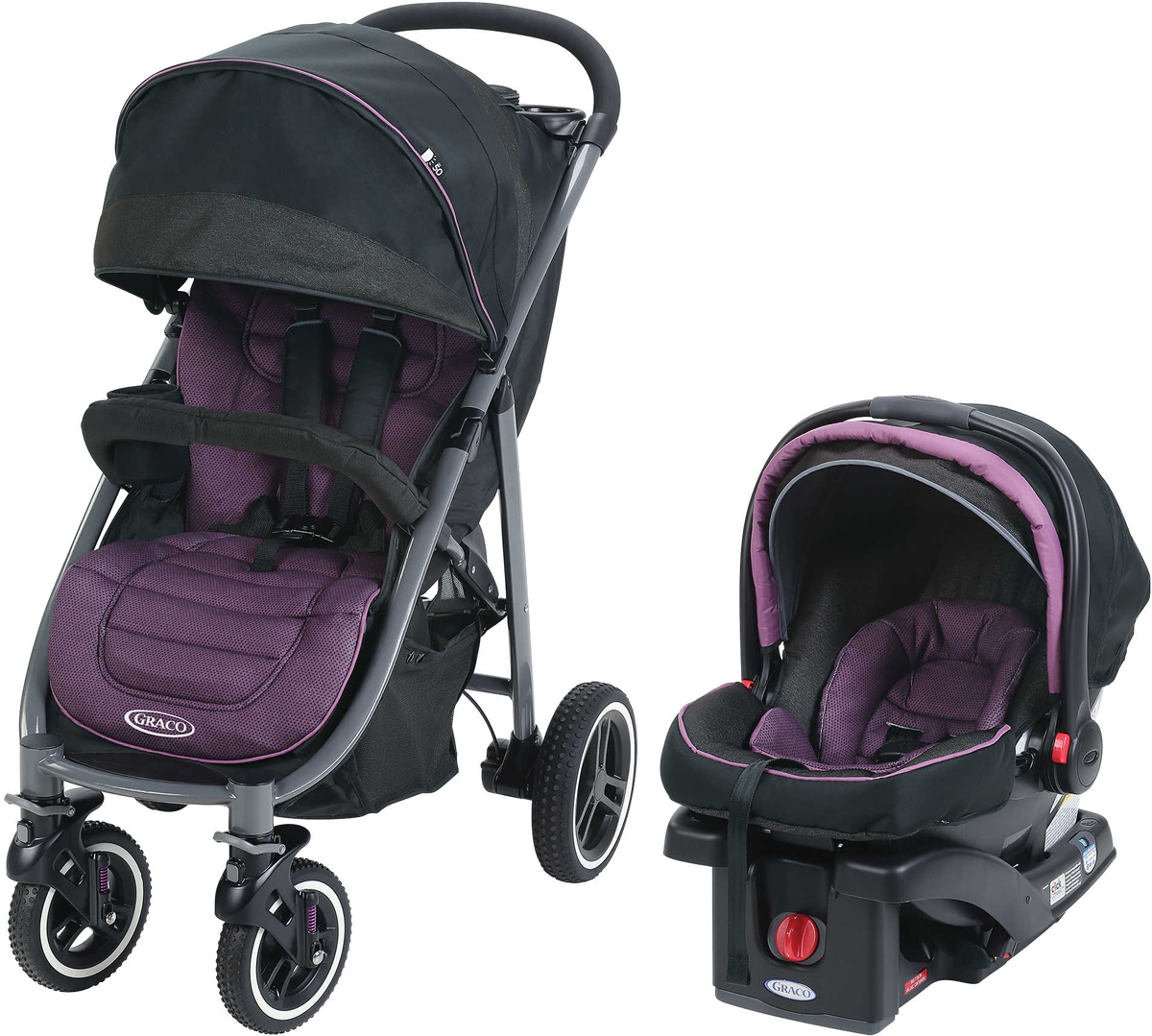 Graco Aire4 XT Travel System - Radiant