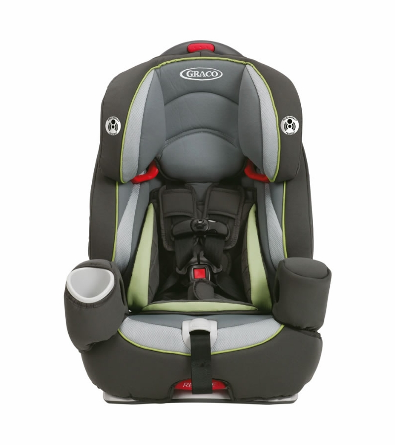 Graco Argos 80 Elite 3-in-1 Harness Booster Car Seat - Go Green