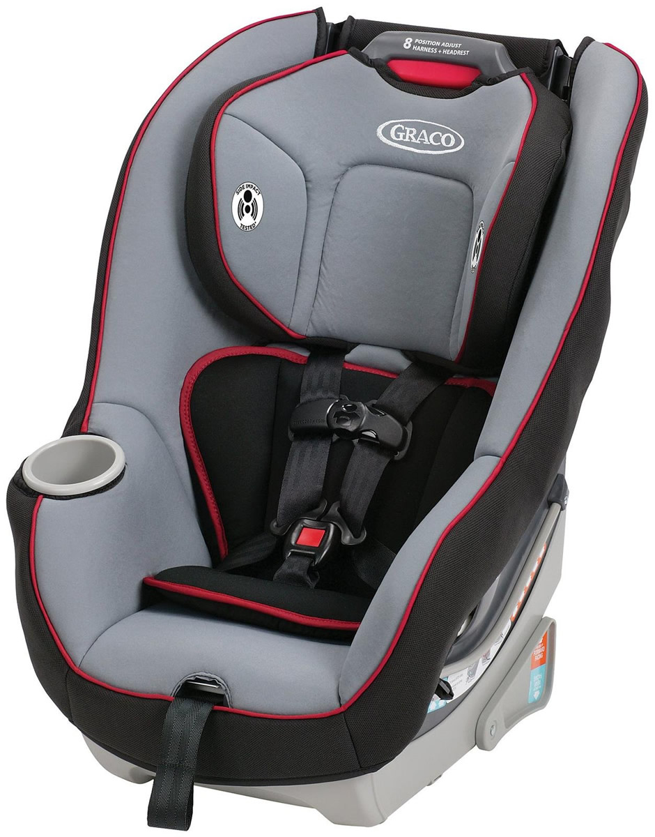 Graco Contender 65 Convertible Car Seat - Chili Red