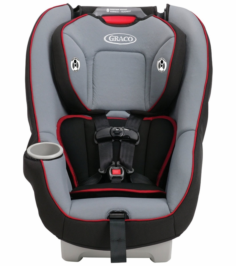 graco contender 65 convertible car seat chili red. Black Bedroom Furniture Sets. Home Design Ideas