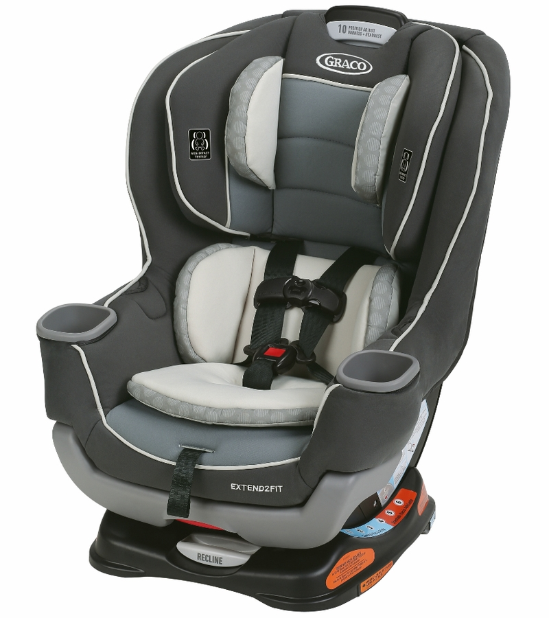 Graco Extend2Fit Convertible Car Seat - Basin
