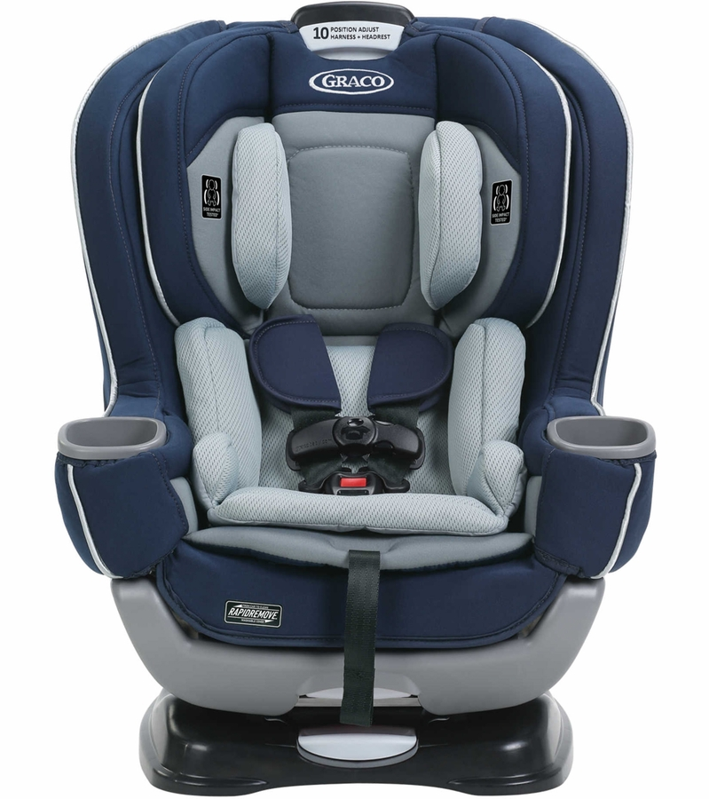 graco extend2fit convertible car seat featuring rapidremove cadet. Black Bedroom Furniture Sets. Home Design Ideas