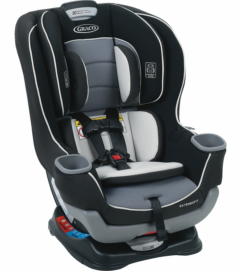 graco extend2fit convertible car seat gotham. Black Bedroom Furniture Sets. Home Design Ideas