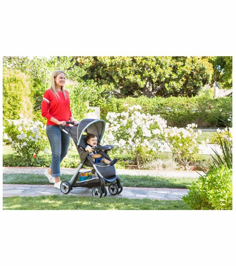 Graco Fastaction Fold Click Connect Travel System Affinia