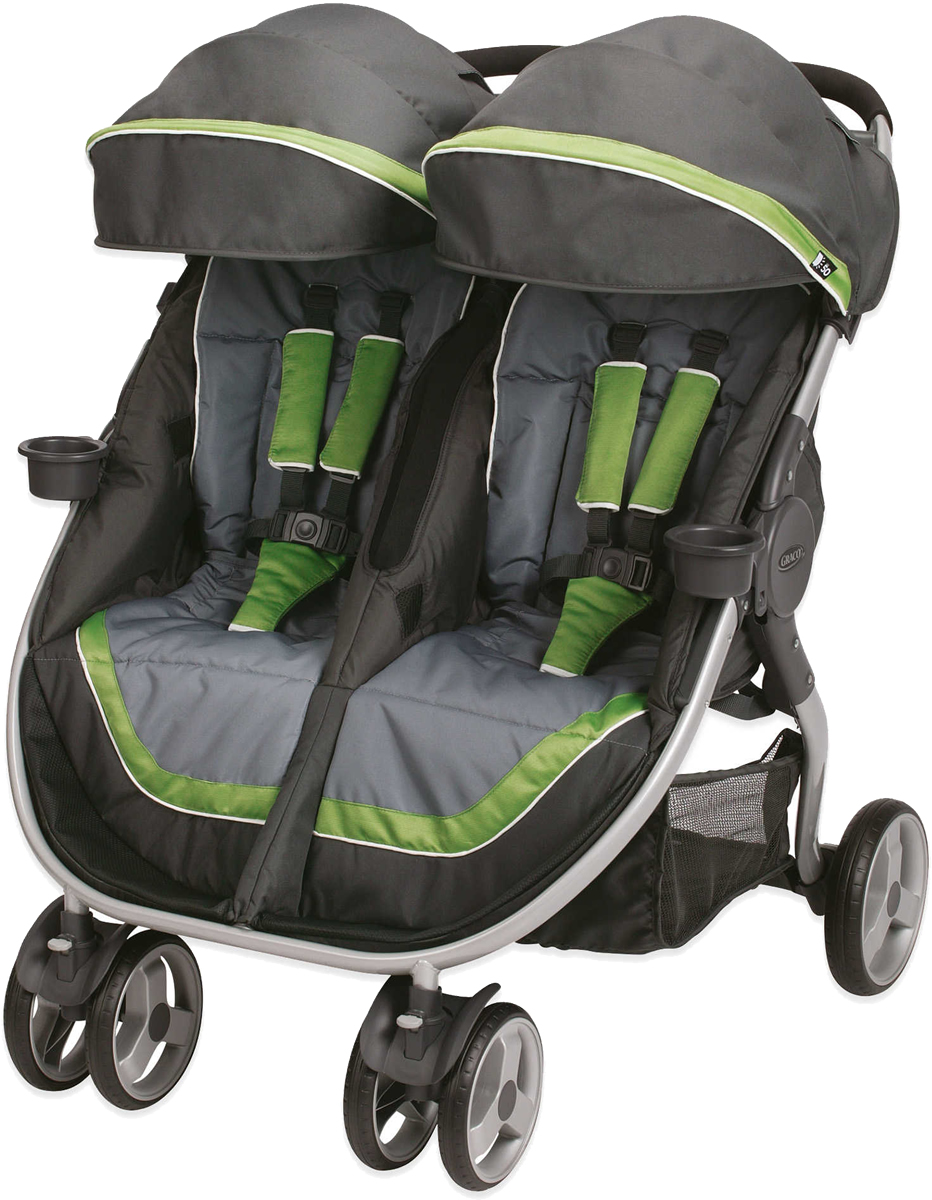 how to fold graco click connect jogging stroller